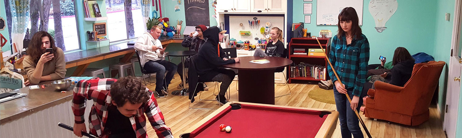 teens at grass valley youth center