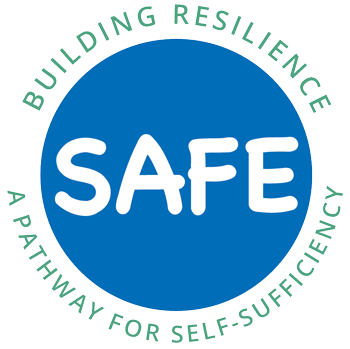 safe program homelessness nevada county logo