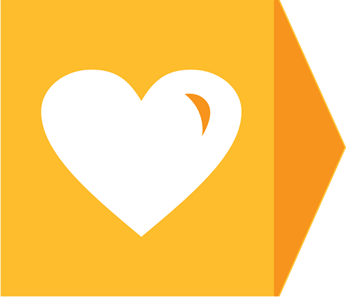 heart icon for concrete support