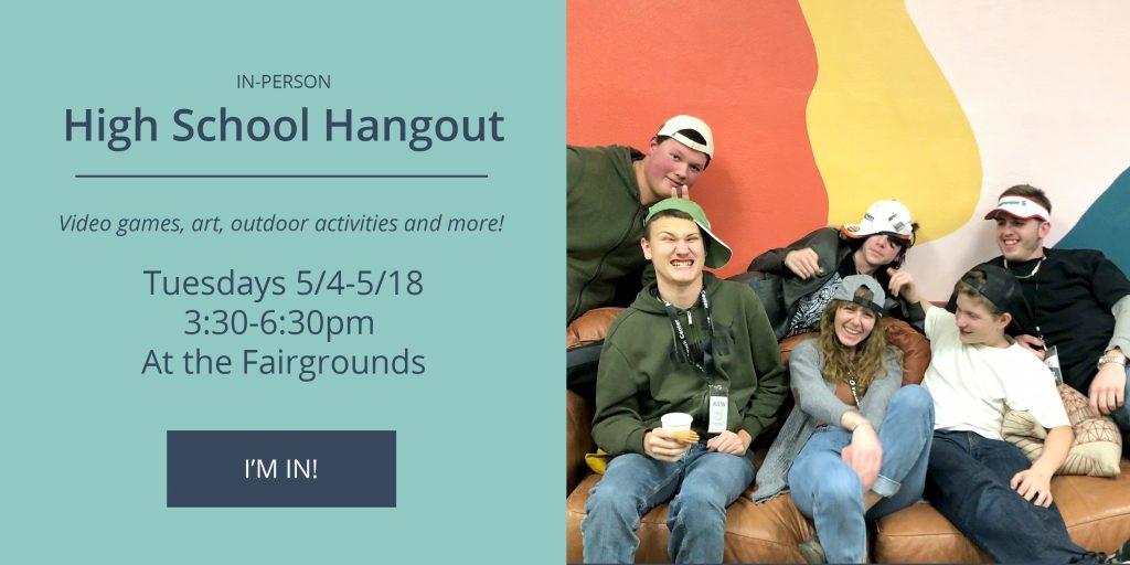 NEO High School Hangout - Tuesdays 5/4-5/18