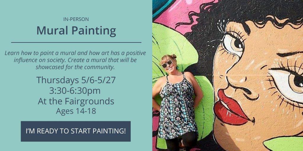 NEO Mural Painting - Thursdays 5/6-5/27