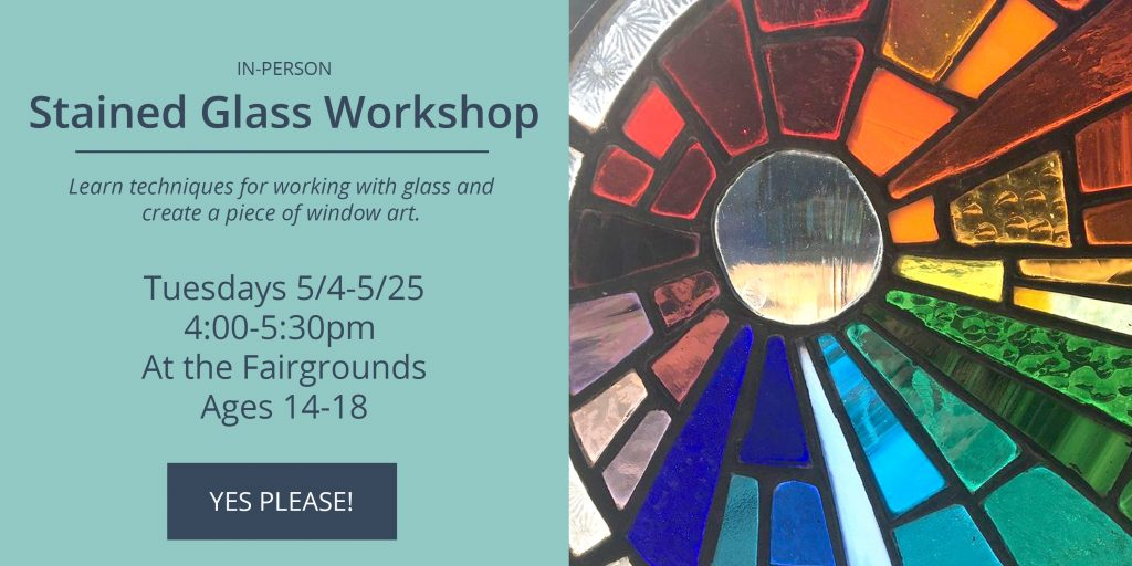 NEO Stained Glass Workshop - 5/4-5/25