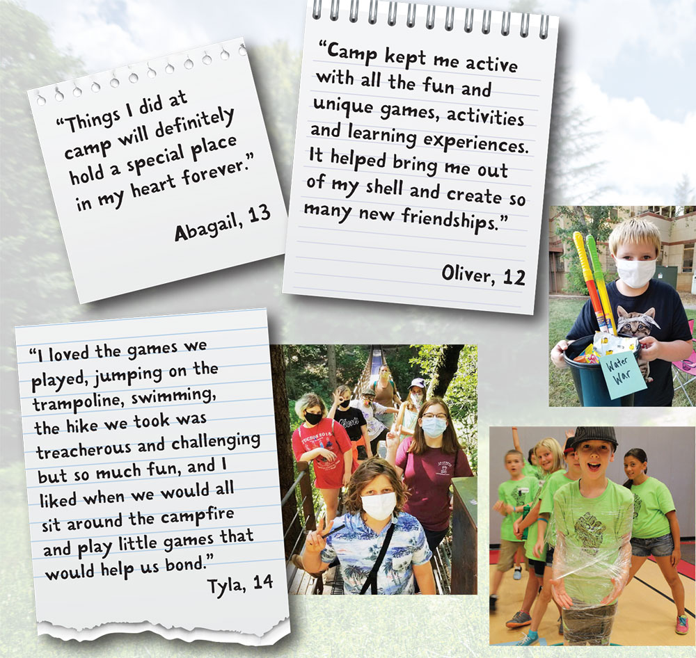 kids quotes from summer camp